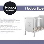 Cuna-de-bebe-Ibaby-Dreams-Basic-3-posiciones-de-somier-Lateral-abatible-Varios-colores-para-elegir-0-5