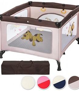 TecTake-Parque-para-beb-cuna-infantil-de-viaje-porttil-altura-ajustable-disponible-en-diferentes-colores-0