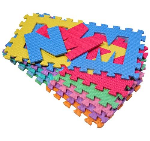 Alfombra puzzle alfabeto ni os 3 a os tienda de beb s - Alfombras para jugar ninos ...