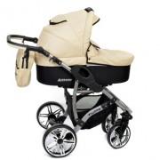 Baby-Sportive-Allivio-Sistema-de-viaje-3-en-1-silla-de-paseo-carrito-con-capazo-y-silla-de-coche-RUEDAS-GIRATORIAS-y-accesorios-color-crema-0-1