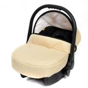 Baby-Sportive-Allivio-Sistema-de-viaje-3-en-1-silla-de-paseo-carrito-con-capazo-y-silla-de-coche-RUEDAS-GIRATORIAS-y-accesorios-color-crema-0-6