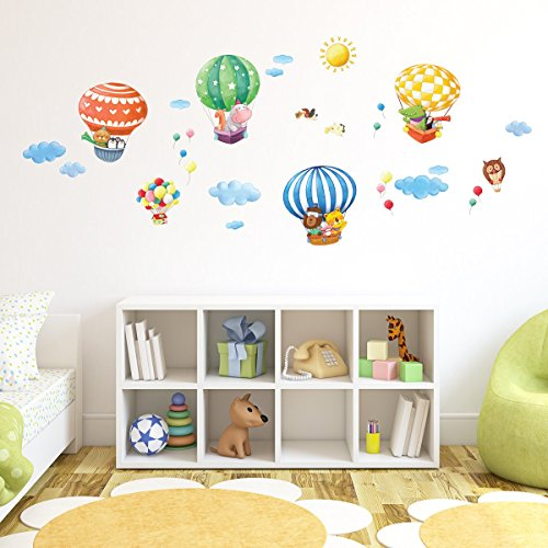 Balloons stickers for baby room - Online Shop