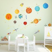 Decowall-DM-1501-Las-calcomanas-Sistema-Solar-cscara-y-etiquetas-de-la-pared-del-cuarto-de-nios-del-palillo-pegatinas-0-0