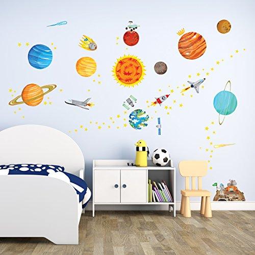 Sonnensystem-Aufkleber - Kinderzimmer - Online-Shop