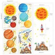 Decowall-DM-1501-Las-calcomanas-Sistema-Solar-cscara-y-etiquetas-de-la-pared-del-cuarto-de-nios-del-palillo-pegatinas-0-5