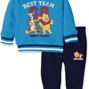 Disney-Winnie-the-Pooh-Conjunto-Para-Bebs-color-azul-real-talla-23-meses-0