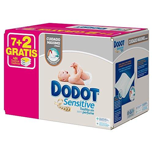 Dodot-Sensitive-Toallitas-9-paquetes-de-54-unidades-0