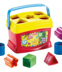 Fisher-Price-Bloques-Infantiles-Con-cubo-transportable-Mattel-21-7167K-0