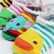 Happy-Cherry-Pack-de-10-pares-Calcetines-Zapatos-Antideslizantes-para-bebs-nios-nias-1-3-aos-14cm-0-3