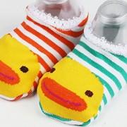 Happy-Cherry-Pack-de-10-pares-Calcetines-Zapatos-Antideslizantes-para-bebs-nios-nias-1-3-aos-14cm-0-7