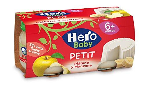hero baby potitos de pl tano y manzana pack de 6 tienda. Black Bedroom Furniture Sets. Home Design Ideas