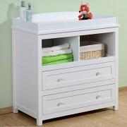 Infantastic-Cambiador-para-bebs-de-madera-robusta-con-bordes-de-seguridad-2-cajones-grandes-y-2-casillas-abiertas-color-a-elegir-0-5