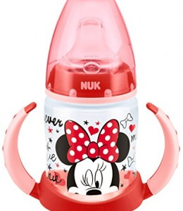 NUK-Disney-First-Choice-Learner-Bottle-Vaso-aprendisaje-de-PP-con-cbquilla-blanda-de-silicona150-ml-colores-aleatorios-0