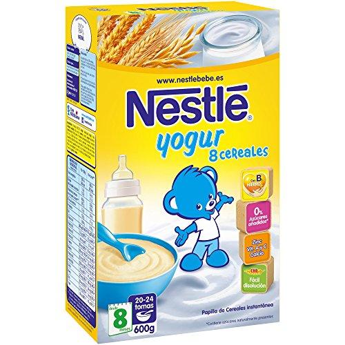 Nestl papillas de cereales con yogurt beb s 8 meses - Cereales bebe 5 meses ...