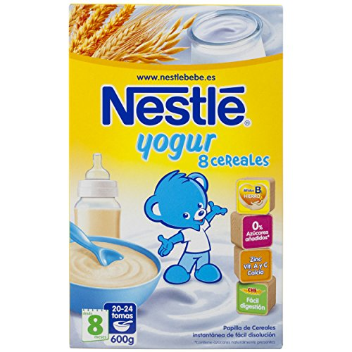 Nestl c r ales pour b b s avec des b b s d yogourt 8 mois - Cereales bebe 5 meses ...