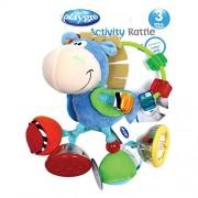 Playgro-0101145-Mordedor-forma-de-vaca-Clip-Clop-0-0