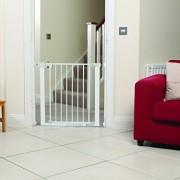 Safety-1st-Easy-Close-Barrera-de-puerta-de-metal-color-blanco-0-9
