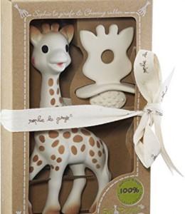 Sophie-la-Girafe-616624-Juguete-chupete-100-Hevea-natural-0