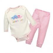 Vine-bebes-ropa-para-bebs-nacido-Romper-ropa-mueca-largos-ropa-de-nio-de-la-manga-Bodypantalones-ballena-0