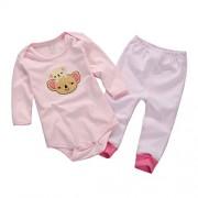 Vine-bebes-ropa-para-bebs-nacido-Romper-ropa-mueca-largos-ropa-de-nio-de-la-manga-Bodypantalones-coala-0
