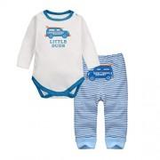 Vine-bebes-ropa-para-bebs-nacido-Romper-ropa-mueca-largos-ropa-de-nio-de-la-manga-Bodypantalones-coche-0