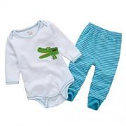 Vine-bebes-ropa-para-bebs-nacido-Romper-ropa-mueca-largos-ropa-de-nio-de-la-manga-Bodypantalones-cocodrilo-0