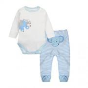 Vine-bebes-ropa-para-bebs-nacido-Romper-ropa-mueca-largos-ropa-de-nio-de-la-manga-Bodypantalones-elefante-2-0