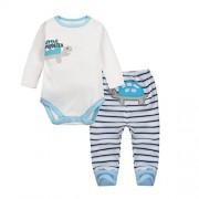 Vine-bebes-ropa-para-bebs-nacido-Romper-ropa-mueca-largos-ropa-de-nio-de-la-manga-Bodypantalones-tortuga-3-0