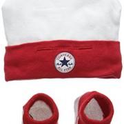 Converse-Hat-and-Bootie-Conjunto-de-Ropa-para-Bebs-Multicolor-Red-06-Meses-Talla-del-Fabricante-0-6M-0
