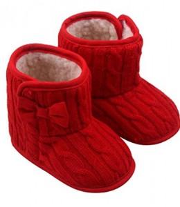 Koly-Beb-Bowknot-Zapatos-de-suela-blanda-Invierno-zapatos-calientes-Botas-0