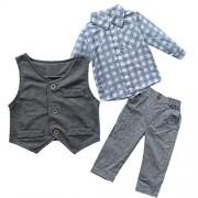 iEFiEL-Conjunto-de-Tres-Piezas-1pc-Camisa-de-Manga-Larga-1pc-Chaleco-1pc-Pantalones-Trajes-Casuales-de-Bautizo-para-Beb-Nio-0-0