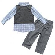 iEFiEL-Conjunto-de-Tres-Piezas-1pc-Camisa-de-Manga-Larga-1pc-Chaleco-1pc-Pantalones-Trajes-Casuales-de-Bautizo-para-Beb-Nio-0-1