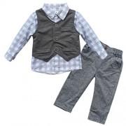 iEFiEL-Conjunto-de-Tres-Piezas-1pc-Camisa-de-Manga-Larga-1pc-Chaleco-1pc-Pantalones-Trajes-Casuales-de-Bautizo-para-Beb-Nio-0
